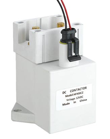 What is the resistance of the contactor coil